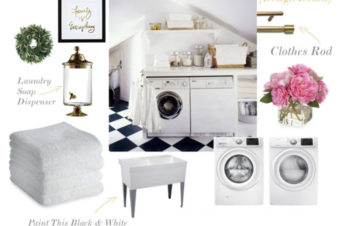 My New Laundry Room: Design Board