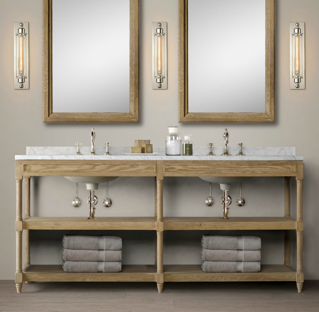 Restoration Hardware Bathroom Vanity Restoration Hardware Bathroom Vanity Reviews Home Design