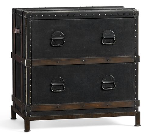 pottery barn LUDLOW TRUNK FILE CABINET