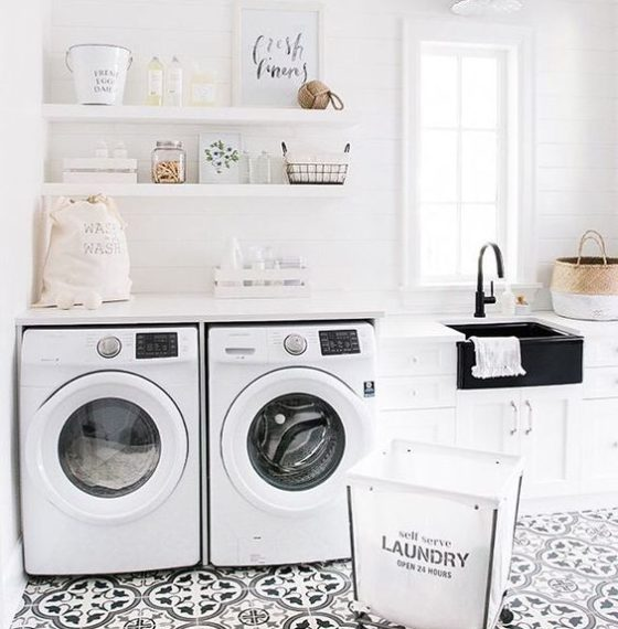 How to Transform Your Laundry Room For Less Than $200! – Before Photos